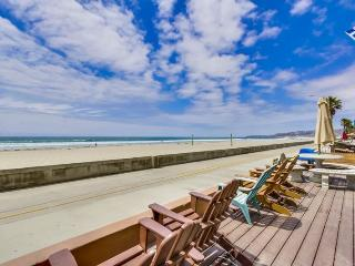 Jersey 1 - Mission Beach 2BR Oceanfront Gem - Mission Beach vacation rentals