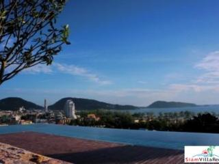Modern One Bedroom Holiday Apartment in Patong Hills with Sea View HOL4072 - Patong vacation rentals