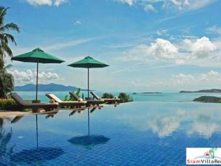 Picturesque Hillside Seaview Pool Villa with Three Bedrooms in Bophut, Samui HOL4191 - Bophut vacation rentals