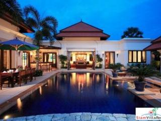 Four-Bedroom Luxury Balinese Courtyard Pool Villa in Bang Tao HOL6833 - Bang Tao vacation rentals