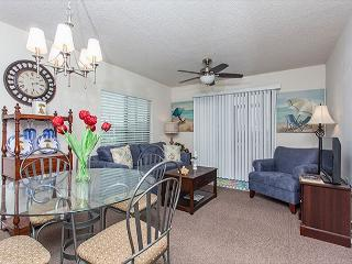 Ocean Village A14, Ground Floor condo, pools, tennis, Wifi in Unit - Saint Augustine vacation rentals
