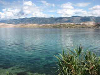 Stone house & private beach, Pag, Dalmatia - Pag vacation rentals