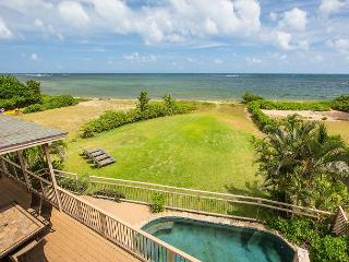 8 bedroom with Pool, Jacuzzi, Oceanfront! - Haleiwa vacation rentals