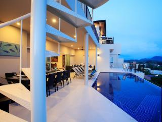 TURQUOISE: 9 bedroom Seaview, Private Pool Villa - Nai Harn vacation rentals