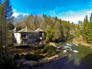River Bend Lodge - Fightingtown Creek - McCaysville - McCaysville vacation rentals
