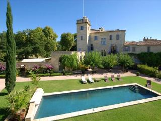 Château de Calvieres, Elegantly Restored with Pool and Home Cinema, 10 Bedroom - Saint-Laurent-d Aigouze vacation rentals