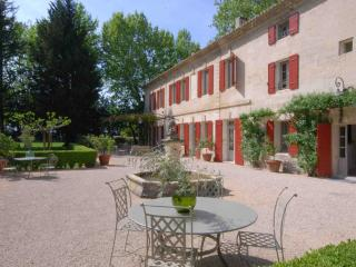 Maison de Maitre, Elegant 17th Century Noble House with Pool in Provence, Sleeps 14 - Beaucaire vacation rentals