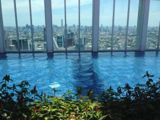 Luxury 2BR 2mn BTS crazy view from the 50 fl - Bangkok vacation rentals