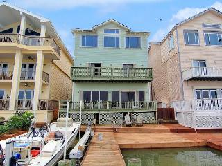 6 bedroom 3 story home right on the Marina! Fish on your PRIVATE DOCK! - Port Aransas vacation rentals