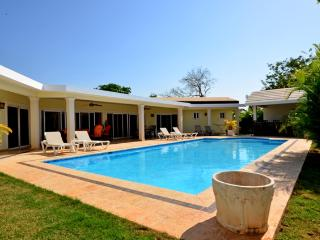 One of a kind here in Casa Linda, this villa provides you with a Great pool of 21000 gallons, a large outside area with a big co - Cabarete vacation rentals