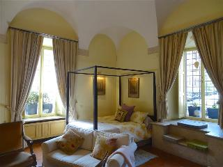 In Rome's Historic Center near Piazza Navona, Romantic Renaissance Apartment in Historic Roman Palaz - Rome vacation rentals