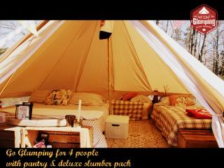 East Coast Glamping Bell Tent Experiences - Indian Harbour vacation rentals