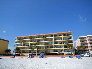 Las Brisas 502 Top Floor Gulf Front condo - 50 inch Plasma TV & Free WiFi ! - Madeira Beach vacation rentals