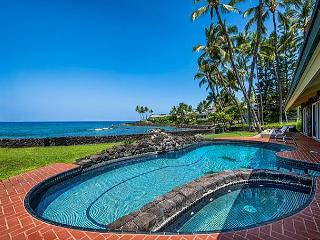 Luxury Oceanfront Home, with Private Pool, Spa and Spectacular Views - Kailua-Kona vacation rentals