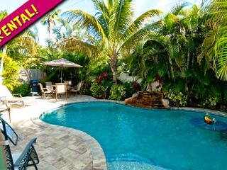 Palm Villa: 3BR Family-Friendly Pool Home - Holmes Beach vacation rentals