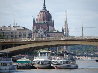 Danube river view 2 bedroom topfloor apartment - Budapest vacation rentals