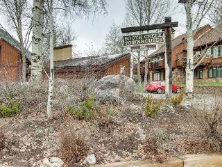 Contemporary lodging on shuttle route to skiing! - Vail vacation rentals