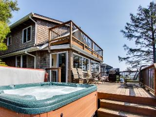 Oceanview home with relaxing private hot tub - Manzanita vacation rentals