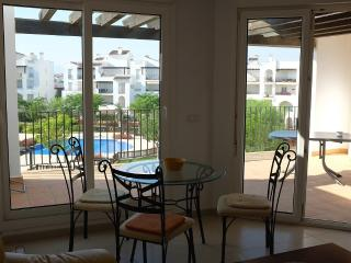 Penthouse with garden and poolview - Roldan vacation rentals