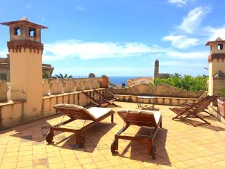 VILLA MIMOSA with internal garden - Puntalazzo vacation rentals
