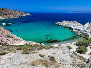 Amazing bungalow on Firopotamos beach, Milos! - Klima vacation rentals