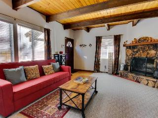Rustic mountain-side home with private hot tub - Big Bear City vacation rentals