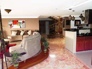LUXURIOUS 3 BEDROOM SPACIOUS PENTHOUSE IN POBLADO - Medellin vacation rentals