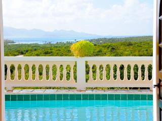 Great for families or couples traveling together, this villa has large upper level deck perfect for enjoying the breeze & ocean views. IDP FRE - Little Harbour vacation rentals