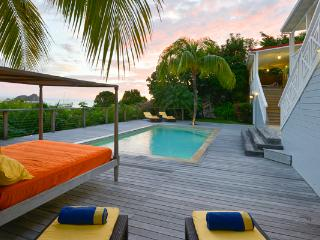 Hillside villa with a gorgeous sea view on Gustavia Harbor WV HSL - Saint Barthelemy vacation rentals