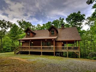 SOPHIE`S RETREAT- 3 BR/ 3.5BA CABIN, SLEEPS 8, PET FRIENDLY, HOT TUB, GAS GRILL, FIRE PIT, WOOD BURNING FIREPLACE, WIFI, POOL TABLE, SAT TV, MULTI- GAME ARCADE SYSTEM, CARD TABLE WITH BOARD GAMES, ONLY $145 A NIGHT! - Blue Ridge vacation rentals