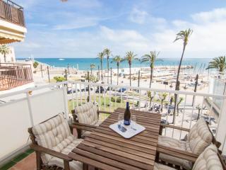 RIBERA MOON elegant beach front apt with views - Sitges vacation rentals