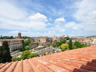 Penthouse Studio Coliseum, stunning view - Rome vacation rentals