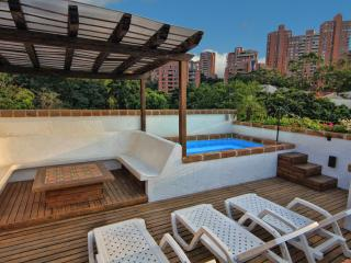 CIELO -Luxury, Waterfall, Jacuzzi, Penthouse Suite - Medellin vacation rentals