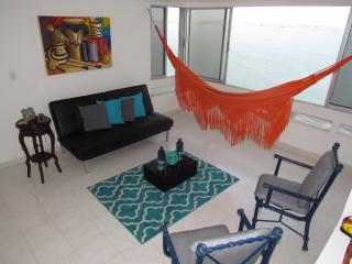 Hear the waves! Oceanfront 2BR Apt Beautiful Views - Colombia vacation rentals