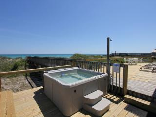 New to Renting! Beach Front, Hot Tub, Screen Porch - North Topsail Beach vacation rentals