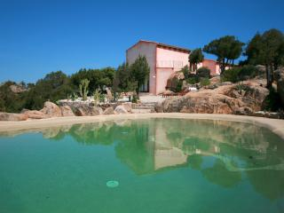 villa la Baia in Baia Sardinia sea view, pool, a/c - Baia Sardinia vacation rentals