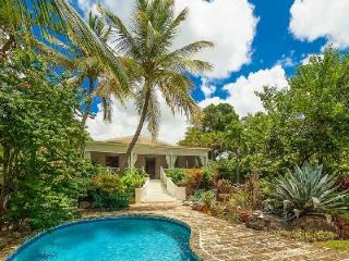 Secluded Senderlea sits cliffside with stairway beach access & tropical pool - Saint Philip vacation rentals