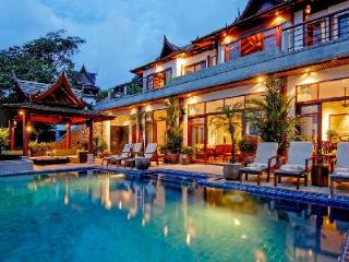 Villa Arawan boasts superb ocean views, infinity pool- jetted tub - Cherngtalay vacation rentals