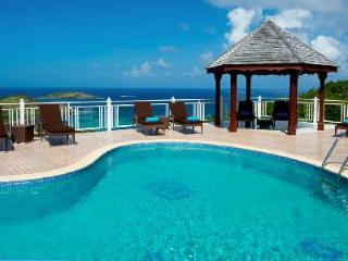 Spacious Villa Soleil Levant on the heights of Toiny, King beds - ideal for groups - Petit Cul de Sac vacation rentals