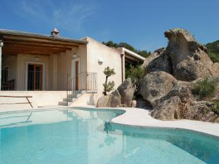 Villa La Silvaredda, Baia Sardinia pool, sea view - Baia Sardinia vacation rentals