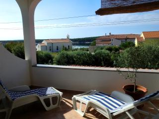 Apartment Lavanda with sea view and AC - Rab vacation rentals