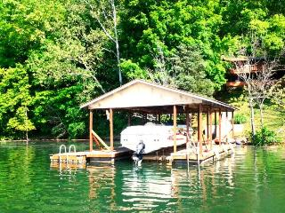 Southern Comfort is a spacious cabin rental along Norris Lake in the vicinity of the Blue Springs Docks. - Lake City vacation rentals
