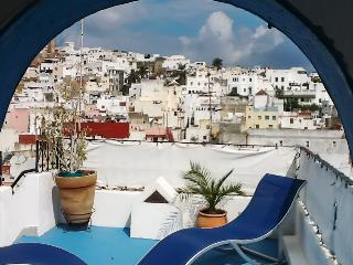 Glamorous house in the Old Medina of Tangier with spacious terrace and sea views, sleeps 7 - Tangier vacation rentals