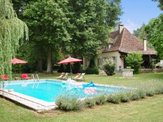 Spacious mansion near Bergerac, Aquitaine, with pool and private 5-hectare park w/ pond and river - Bergerac vacation rentals