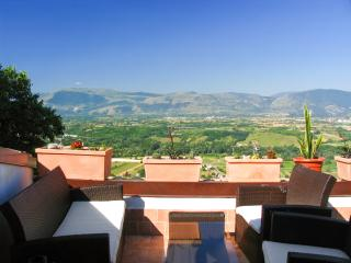 Glorious house in medieval village in Abruzzo, w/ mountain-view terrace & WiFi – near Roccaraso ski - Roccacasale vacation rentals