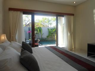 Beach side sanur 2 bed private pool walk to shops - Sanur vacation rentals