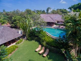 Canggu Bali Riverside Villa Frangipani 4-bdrm lux - Canggu vacation rentals