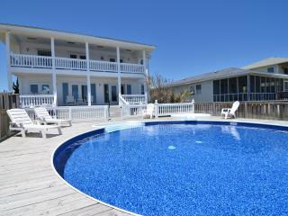 Vitamin Sea...Oceanfront House with Pool - Kure Beach vacation rentals