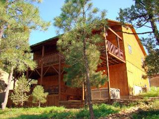 Upper Canyon Lodge is a amazing 4 bedroom cabin located in the Upper Canyon. - Ruidoso vacation rentals