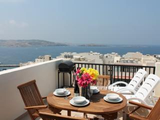 Sunrise one bedroom Penthouse Bugibba - Bugibba vacation rentals